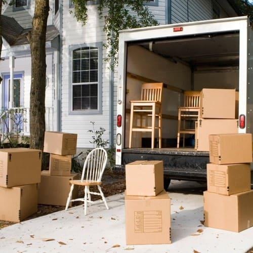 Перевозка мебели на дачу