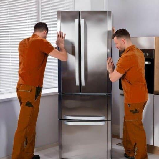 Передвижение холодильника