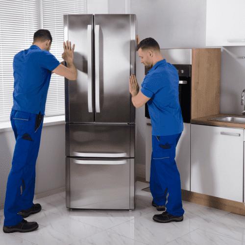 Подъем холодильника